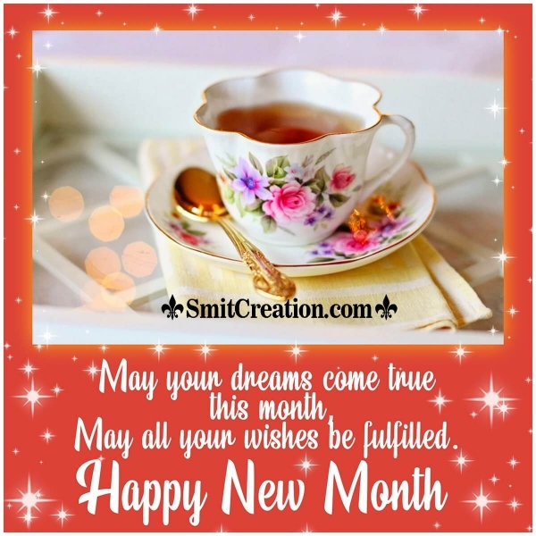 Happy New Month Message