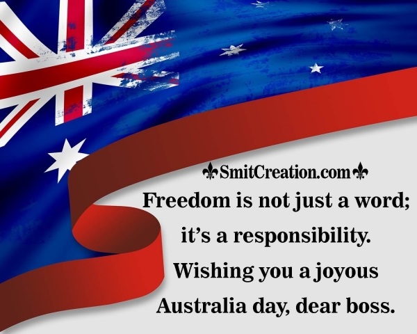 Australia Day Quotes To an Aussie Boss