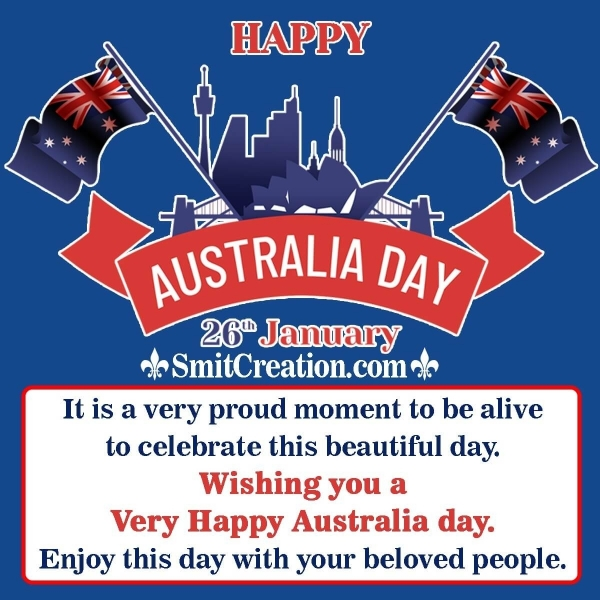 Australia Day Messages for Friends and Family