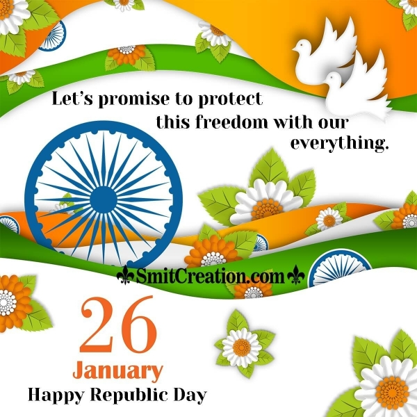 Wonderful Republic Day Wish