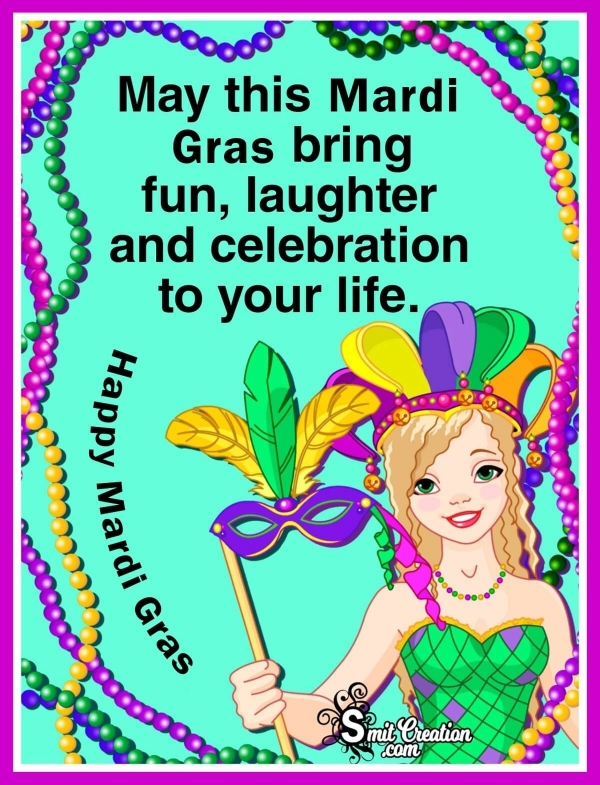 Happy Mardi Gras Messages