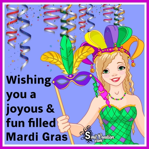 Happy Mardi Gras Wishes