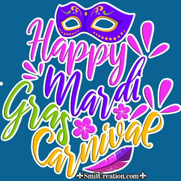 Happy Mardi Gras Carnival
