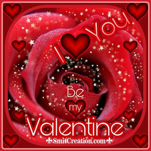 I Love You Be Mine Valentine