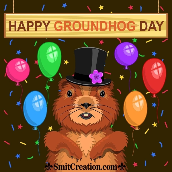 Happy Groundhog Day Picture