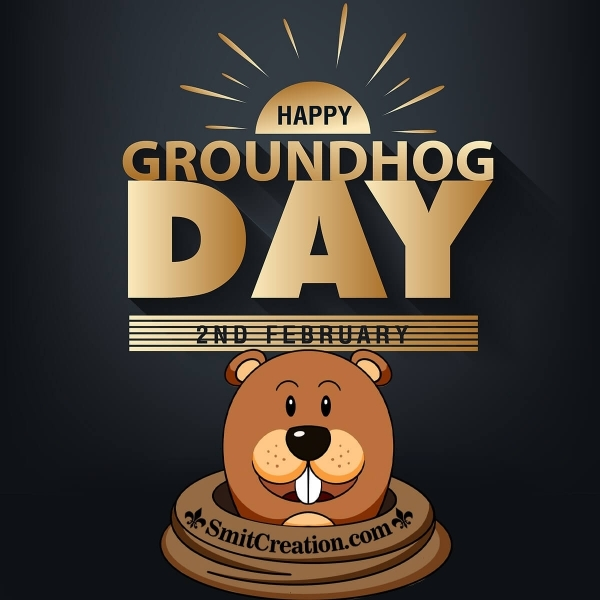Happy Groundhog Day Image