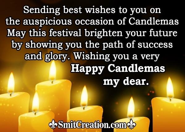 Happy Candlemas My Dear
