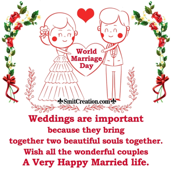 World Marriage Day Messages