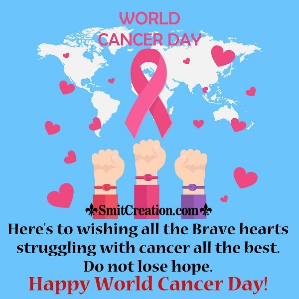 World Cancer Day Picture Wishes