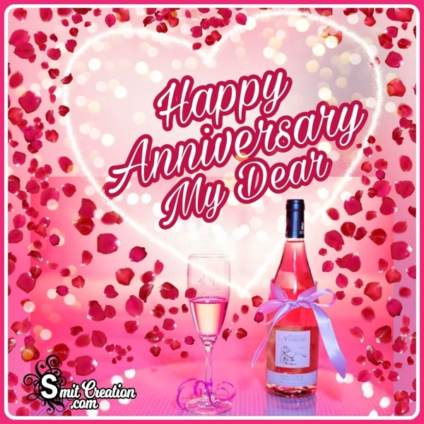Happy Anniversary My Dear