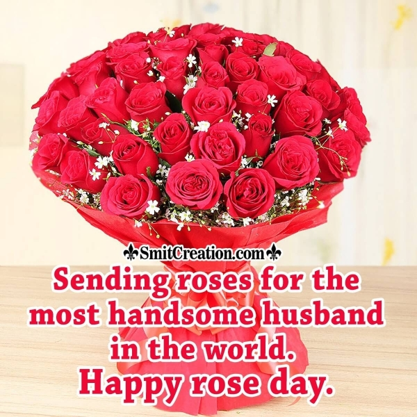 Happy Rose Day, Dear Husband
