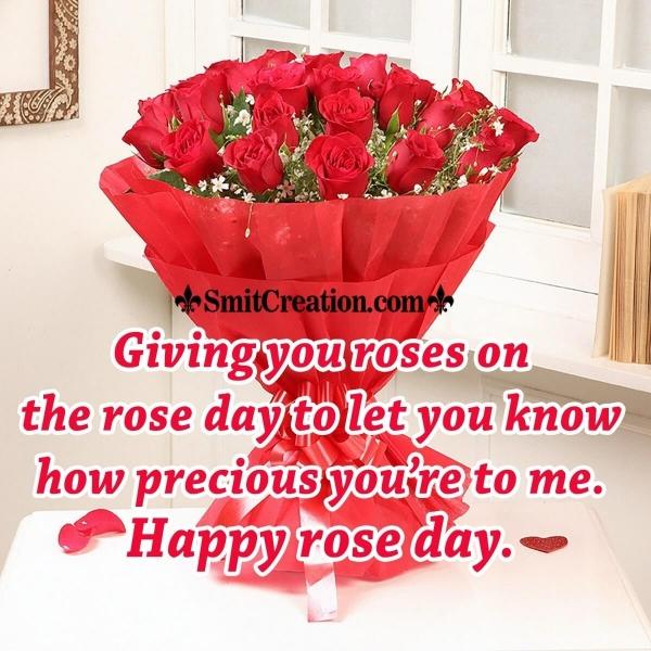 Happy Rose Day To Someone Precious