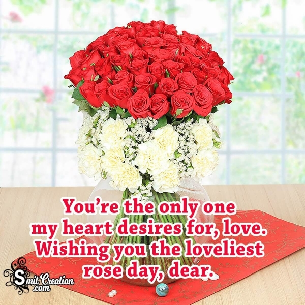 Happy Rose Day Wishes for Girlfriend
