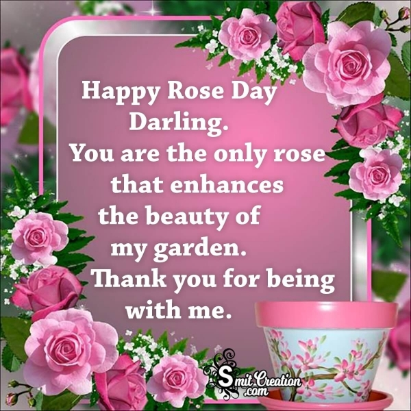 Happy Rose Day Messages for Wife