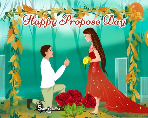 Happy Propose Day Card