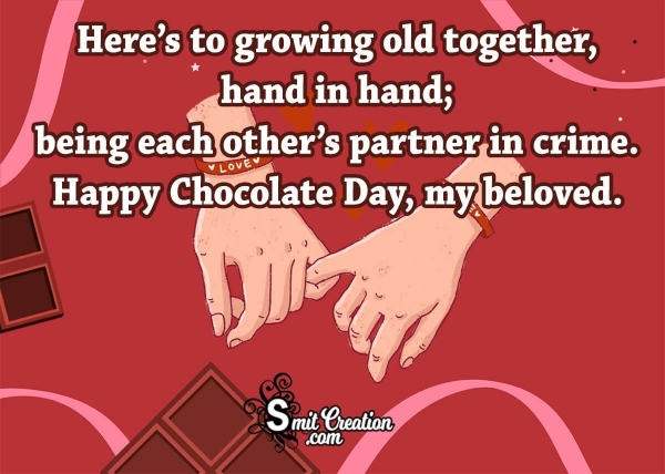 Happy Chocolate Day, My Beloved
