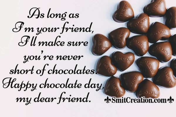 Happy Chocolate Day Messages For Friend
