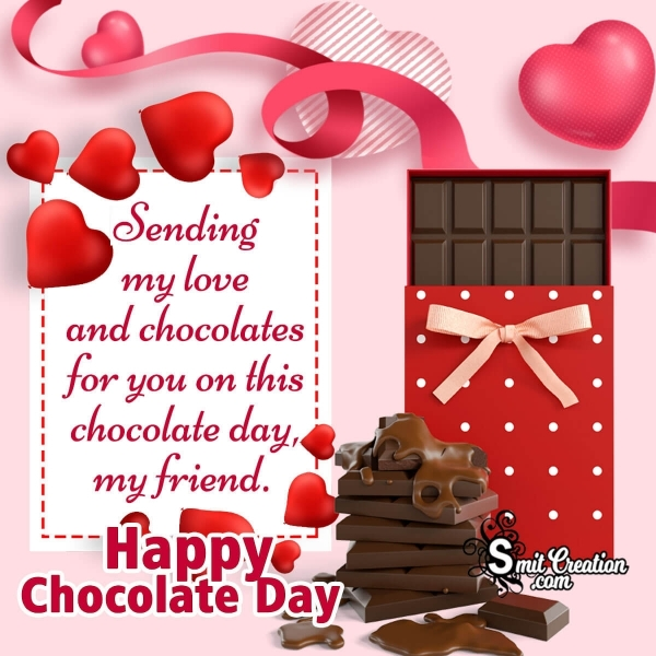Happy Chocolate Day Greetings For Friend