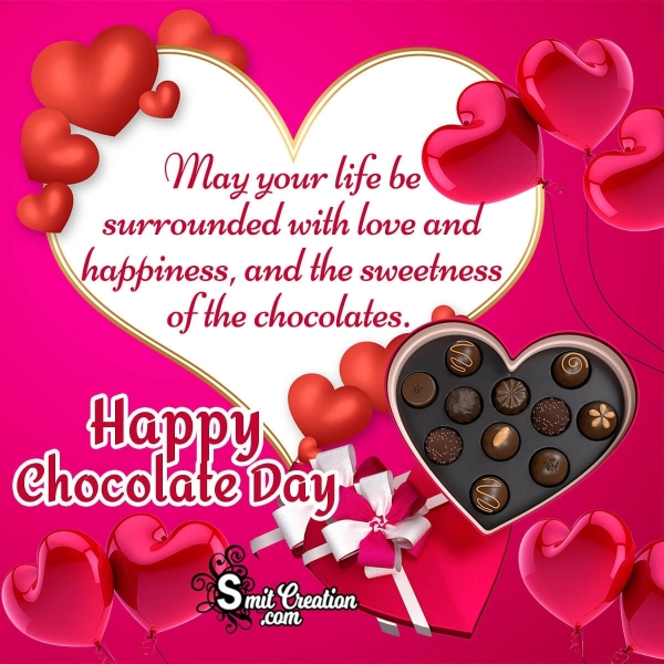 Happy Chocolate Day Wish Greetings