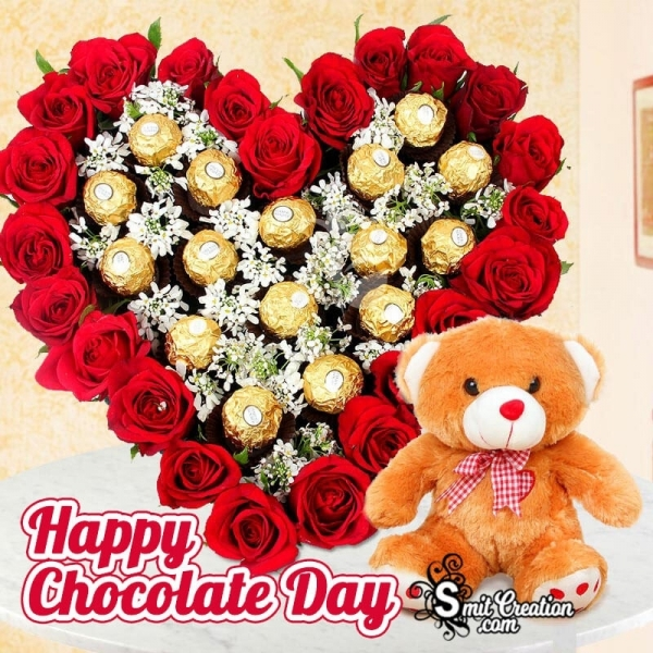 Happy Chocolate Day Lovely Image