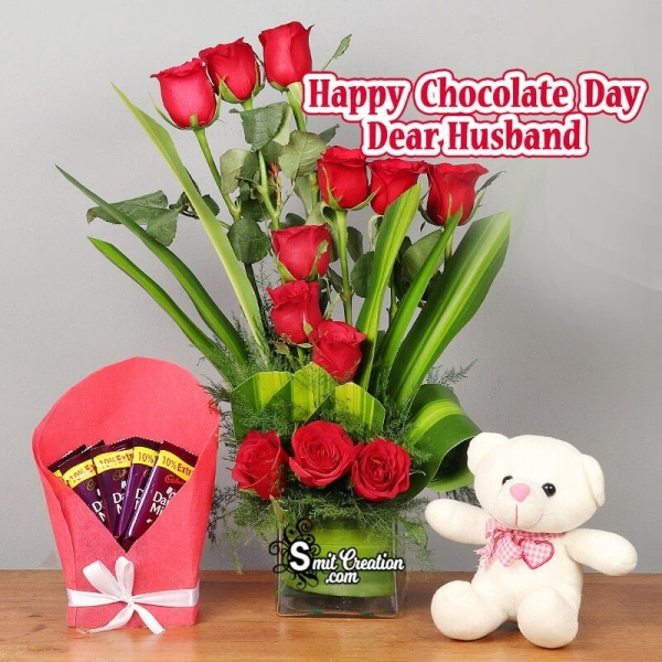 Happy Chocolate Day Dear Husband