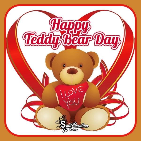Happy Teddy Bear Day Pic
