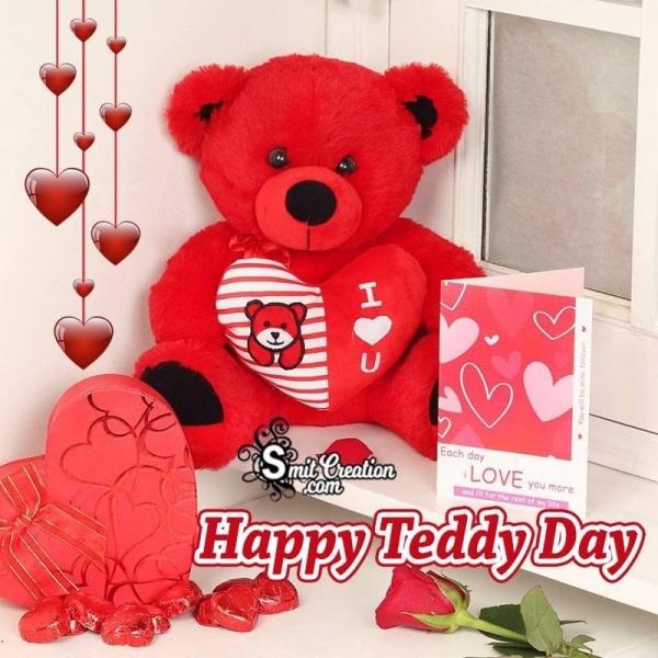 Happy Teddy Day Card