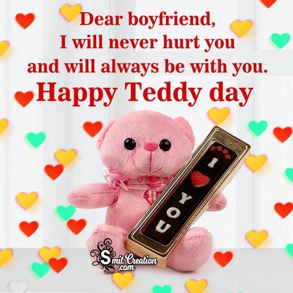 Happy Teddy Day Wish For Boyfriend