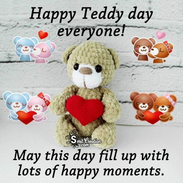 Happy Teddy Day Everyone!