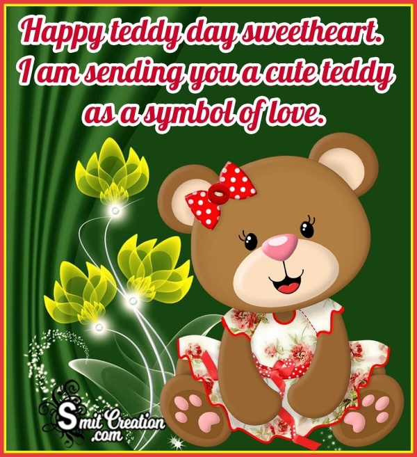 Happy Teddy Day Sweetheart