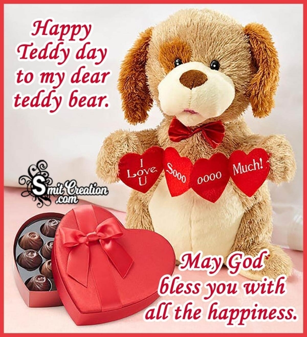 Happy Teddy Day, Dear Love