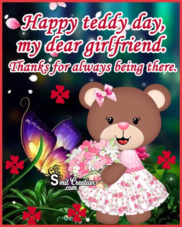 Teddy Day Wishes for Girlfriend