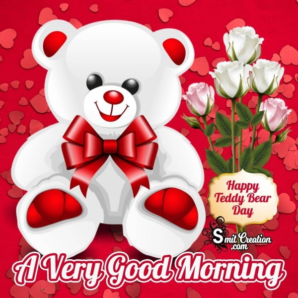 Good Morning Teddy Bear Day Images