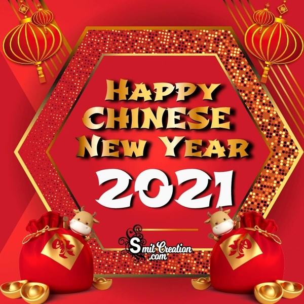 Happy Chinese New Year 2021 Image
