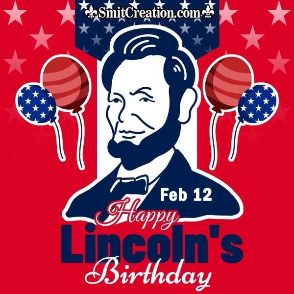 Happy Lincoln's Birthday Image