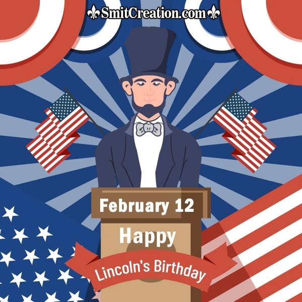 Happy Lincoln's Birthday Card