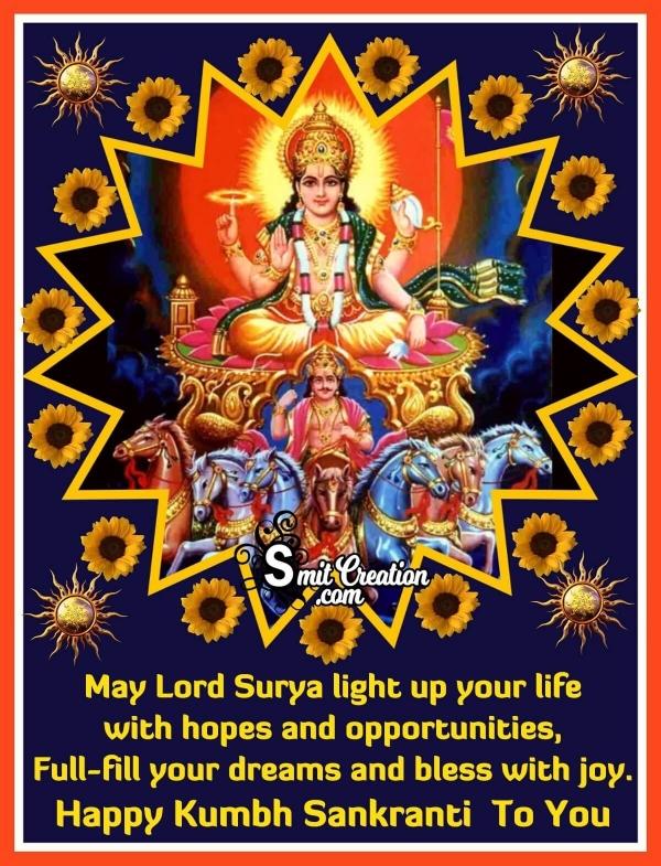 Happy Kumbh Sankranti To You