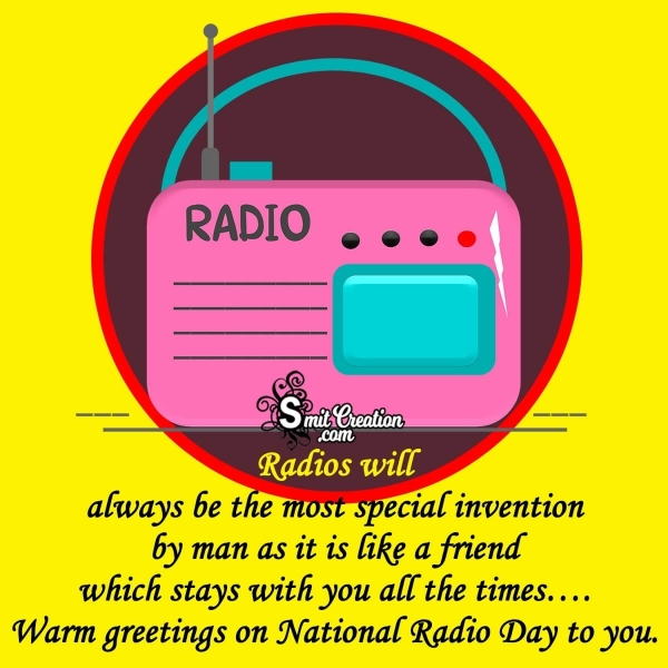 Happy World Radio Day Greeting