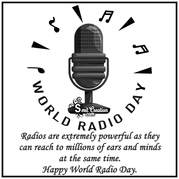 Happy World Radio Day Quote