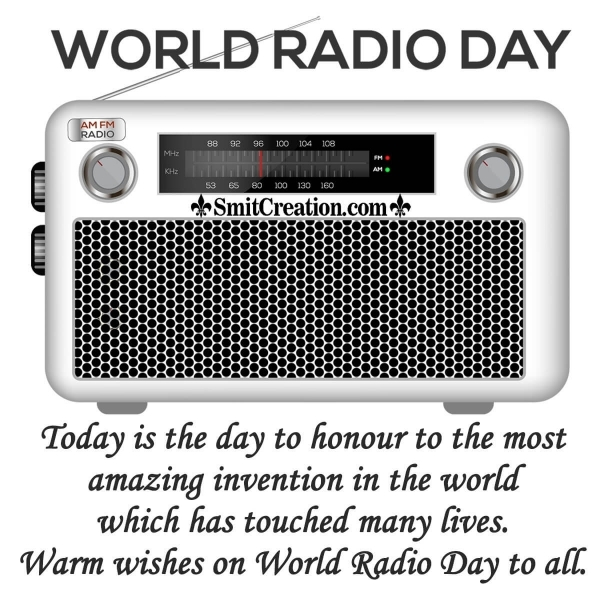 Warm Wishes on World Radio Day