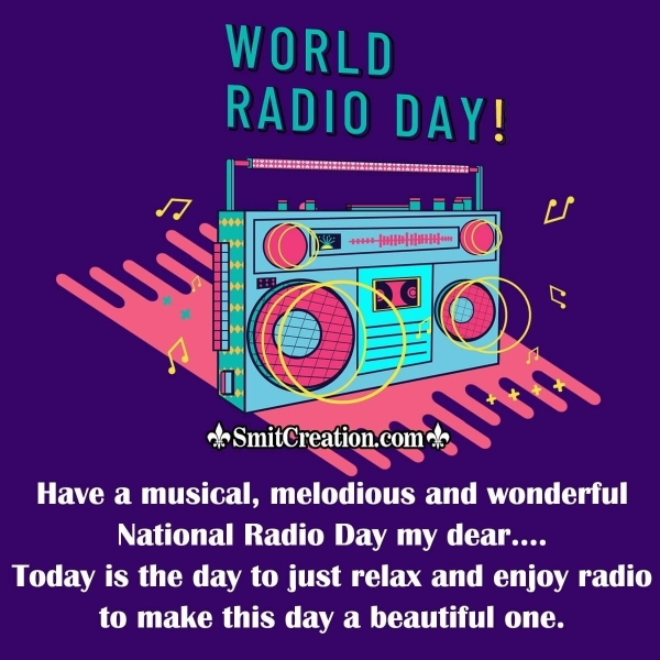 Happy World Radio Day Wish Image