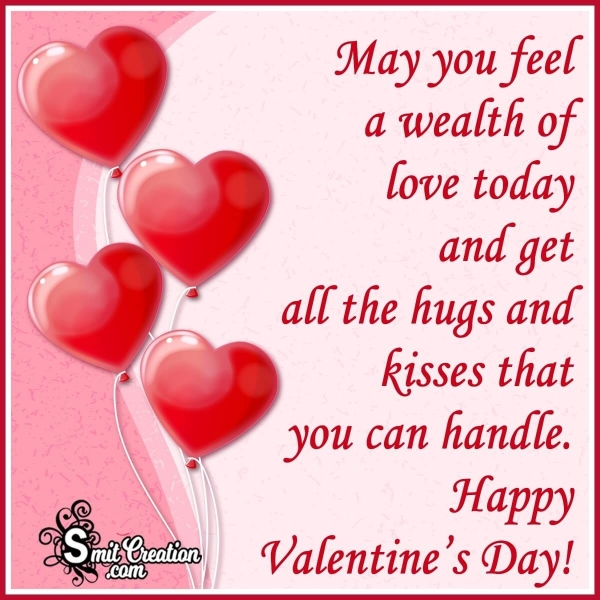 Happy Valentines Day Wish Message