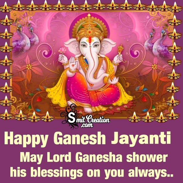 Happy Ganesh Jayanti Blessings