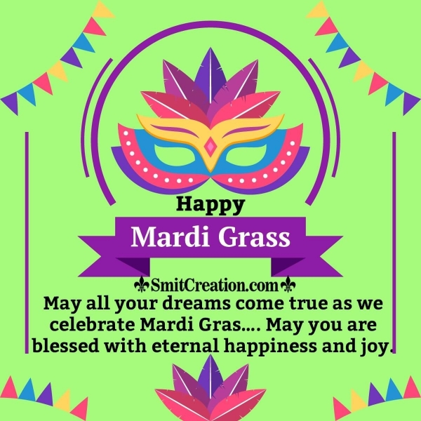 Happy Mardi Gras Blessings
