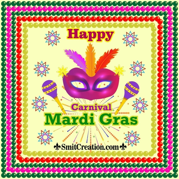 Happy Mardi Gras Image