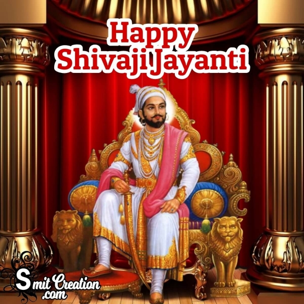 Happy  Shivaji Jayanti Picture