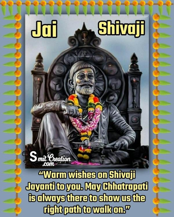 Happy Shivaji Jayanti Status