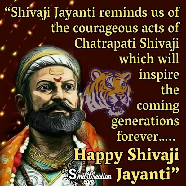 Shivaji Maharaj Jayanti Wishes