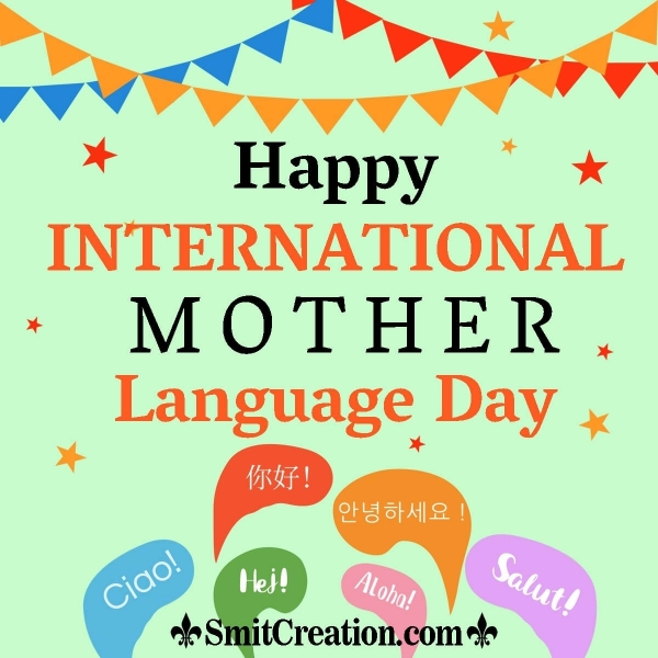 Happy International Mother Language Day