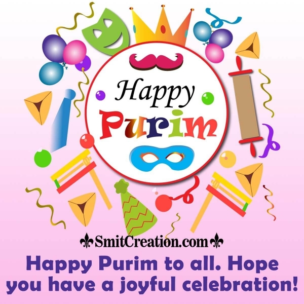 Happy Purim To All